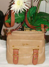 Jessica Simpson Brown Messenger-Crossbody Handbag