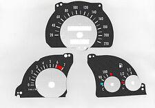Cristal velocímetro para Opel combi velocímetro Vectra A-Astra F carbon discos de tacómetro 1006