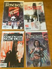 The Brotherhood  issues 1 - 4   Marvel Comics