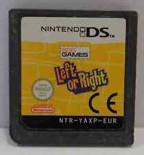 Gioco Game Cartuccia Card NINTENDO DS ITALIANO Play LEFT OR RIGHT - 505 - ITA -