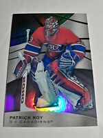 2019-20 Upper Deck SP Game Used #46 Patrick Roy Rainbow Base Parallel 37/275