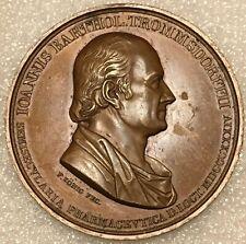 1834 Germany Saxony Ioannis Barthol Trommsdorff Medical Medal, Bronze 43.85 mm