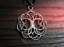 Tree of Life Pendant - Yggdrasil - Viking/Celtic/Norse/Nature/Pagan/Silver/Magic