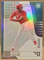 Aristides Aquino Rookie Status Gold Foil #2 Panini Chronicles 2020 Baseball