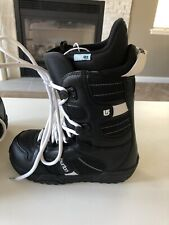 Burton Snowboard Boots Coco Women's Size 6 Excellent Condition Black