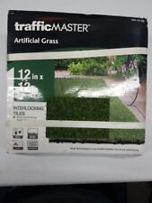 TrafficMaster Artificial Grass Interlocking Tiles 1005160468