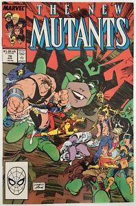 The New Mutants #78 (August 1989, Marvel)