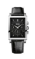 Rechteckige HUGO BOSS Armbanduhren mit 12-Stunden-Zifferblatt