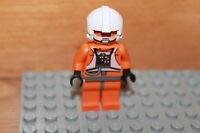 Lego Star Wars - 1 x Rebel Pilot Figur in orange aus dem Set 7658
