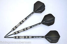 ULTIMATE GRIP 25g TUNGSTEN DARTS SET TARGET FLIGHTS & STEMS