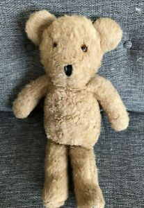 "Alresford Crafts Brown Teddy Bear 19"" Soft Toy Vintage Rare"