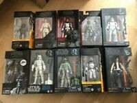 Star Wars Black Series Boba Fett Obi-Wan Mandalorian Ahsoka Clone- BIG SELECTION