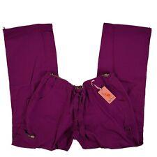 Koi Scrub Pants Cargo Bottoms Plum 701-081 Lindsey