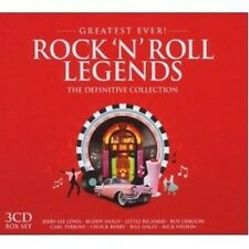 ROCK'N'ROLL LEGENDS-GREATEST EVER 3 CD NEU