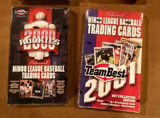 Lot (2) 2000 Rookies And 2001 Team Best Baseball Factory Sealed Box Sabathia RC!