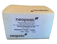 2000 Single Extra Long Neopost Franking Machine Labels - Product Code 73084