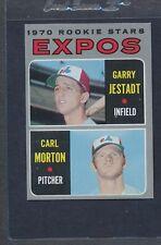 1970 Topps #109 Expos Rookie Stars Jestadt/Morton NM *7151