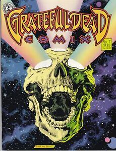 Grateful Dead Comix No. 7 (Paperback, 1993, Kitchen Sink Press) VERY GOOD