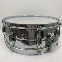 "Vintage Snare Drum Chrome 14"" X 7"""