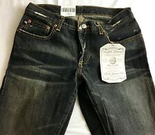 Polo Jean Co Ralph Lauren Kelly Distressed Low Rise Boot Cut Button Fly 2x32 New