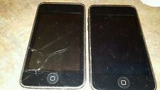 2 Apple iPod touch 2nd Generation (8 Gb) For Parts or Repair