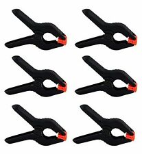 Heavy Duty Muslin Clamps 4 1/2 inch 6 Pack, Free ship