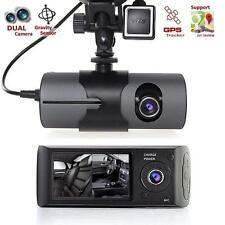 2.7'' 1080P Auto Camera DVR Telecamera Dash Cam Doppio Faro G-Sensor GPS Nuovo