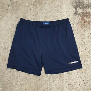 Vintage 90s Umbro Spellout All Over Primt Shorts