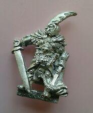 BC2 elf elfes noirs capitaine monster starter set citadel gw games workshop métal