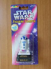 STAR WARS R2-D2 FIGURINE STAMPER ROSE ART NIP 1997 DARTH VADER  LUKE YODA