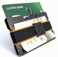 CARBON Craft ® in fibra di carbonio Money Clip & titolare della carta di credito portafoglio sottile compatta