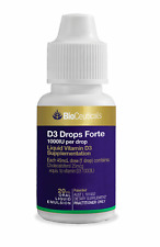 Bioceuticals D3 Drops Forte 20ml RRP $46.95 FREE POSTAGE!