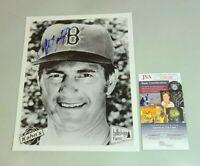 Carl Yastrzemski Signed 8x10 Photo Boston Red Sox JSA COA Authentic 1 of a Kind