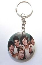 ONE DIRECTION Button KeyRing keychain(not badge patch lp cd shirt)