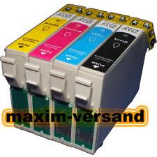 4 Farb-Patronen ersetzen Epson T129x Stylus Office B42WD BX305 F W KEIN Original
