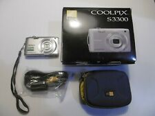 Nikon CoolPix S3300 - Silver