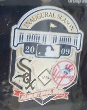 2009 Yankee Stadium 1st Chicago White Sox v Yankees lapel pin