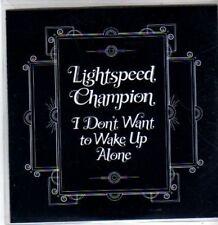 (BR959) Lightspeed Champion, I Don't Want To Wake Up Alone - DJ CD