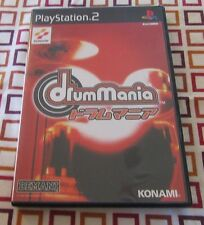 Drum Mania Sony PlayStation 2 Japan Import. US Seller.