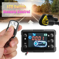 12V/24V 3/5KW LCD Monitor Parking Heater Switch Car Heating Device Controller