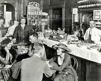 New York City photo Restaurant Tavern Bar Free Lunch  NYC 1917 Vintage