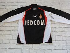 Maillot jersey AS MONACO FC asm signed signé JAVIER ERNESTO CHEVANTON foot ultra