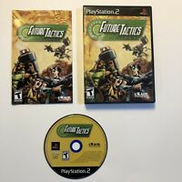 Future Tactics: The Uprising (Sony PlayStation 2, 2004) Complete CIB Tested