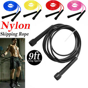 Skipping Rope Jump Speed Exercise Boxing Gym Fitness Workout Kids Adult Free P&P