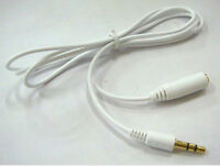Gold Plated 3.5mm Stereo Audio Extension Cable Earphone Headset Male to Female