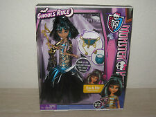 "Monster High Ghouls Rule Cleo De Nile ""Daughter Of The Mummy"" Doll"