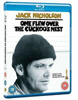 One Flew Over the Cuckoo's Nest [Blu-ray] 1975 Jack Nicholson Milos Forman Movie