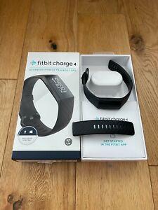 Fitbit Charge 4 Fitness Tracker - Black (FB417BKBK)