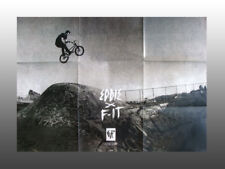 """Collectable Bmx Fit Bicycle Poster, Eddie Cleveland 20"""" x 30"""" printed both sides"""