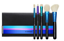 MAC LIMITED EDITION ENCHANTED EVE 5 Brushes w/Travel Bag NIB Retail $148